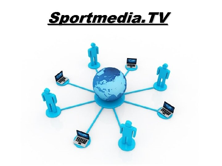 Sportmedia. TV Free Powerpoint Templates Page 1