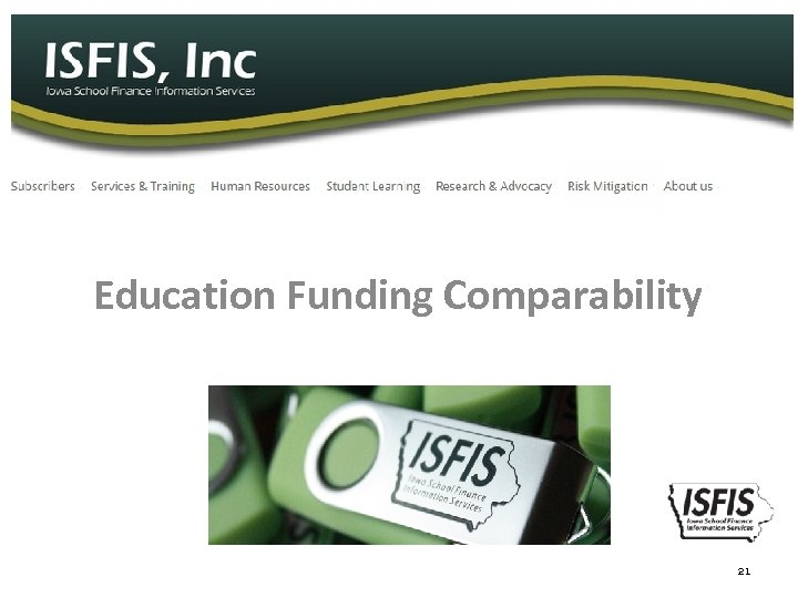 Education Funding Comparability 21