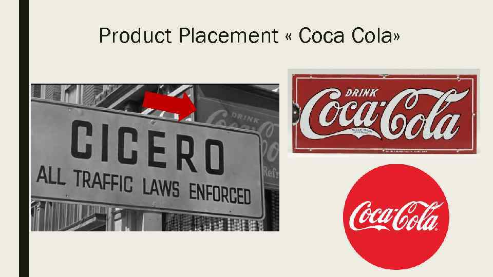 Product Placement « Coca Cola»
