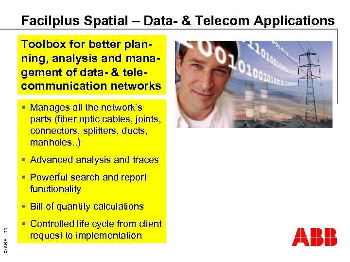 Facilplus Spatial – Data- & Telecom Applications Toolbox for better planning, analysis and management