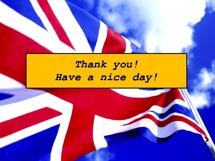 Thank you! Have a nice day!
