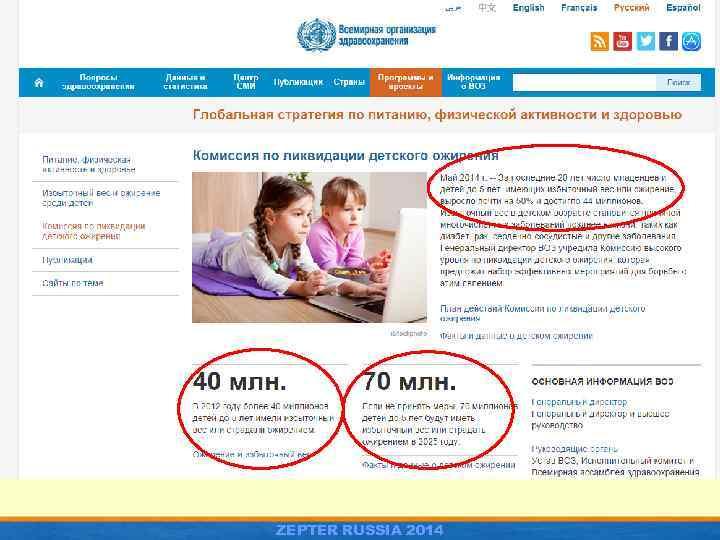 ZEPTER RUSSIA 2014