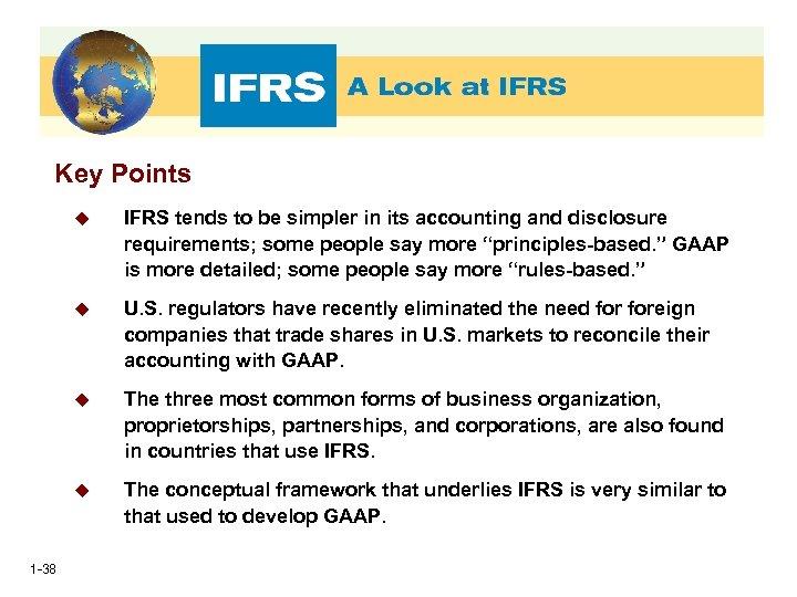 Key Points u u U. S. regulators have recently eliminated the need foreign companies