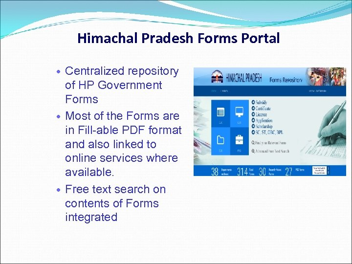 Himachal Pradesh Forms Portal Centralized repository of HP Government Forms Most of the Forms