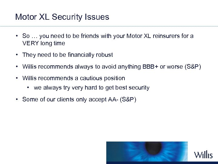 Motor XL Security Issues • So … you need to be friends with your