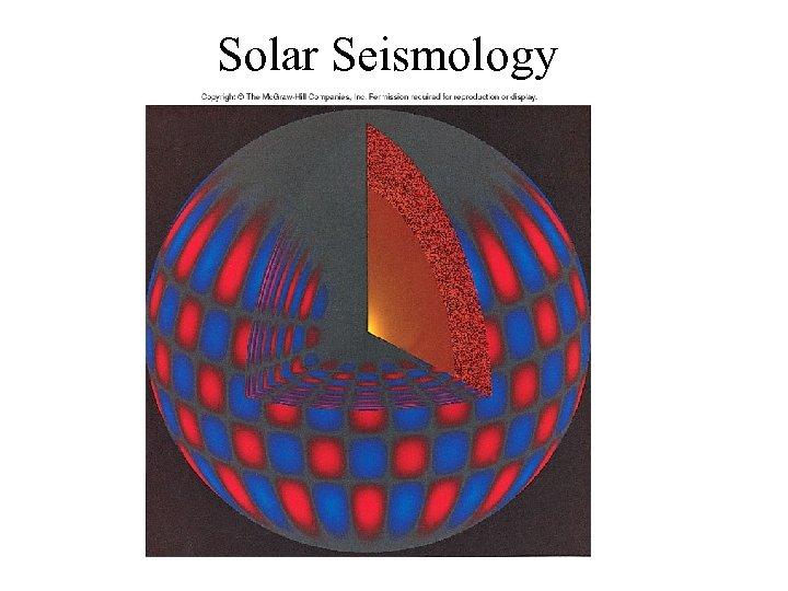Solar Seismology