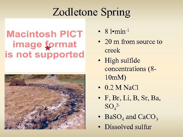 Zodletone Spring http: //fermi. jhuapl. edu/states/maps 1/ok. gif • 8 l • min-1 •