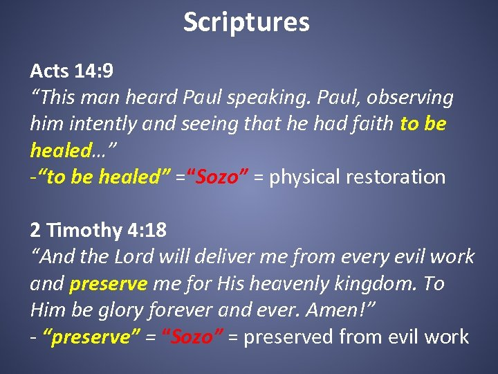 """Scriptures Acts 14: 9 """"This man heard Paul speaking. Paul, observing him intently and"""