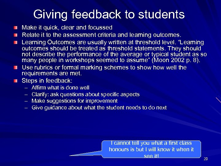writing learning outcomes Writing scenarios and learning outcomes for simulation-based education gabriel reedy phd cpsychol facadmed sfhea king's college london and simulation at guy's and.