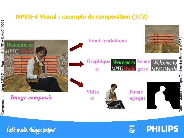 Fond synthétique Graphique et Image composée Vidéo et forme grise forme opaque Cécile