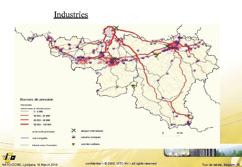 Industries NATO-CCMS, Ljubljana, 18 March 2018 confidential – © 2005, VITO NV – all