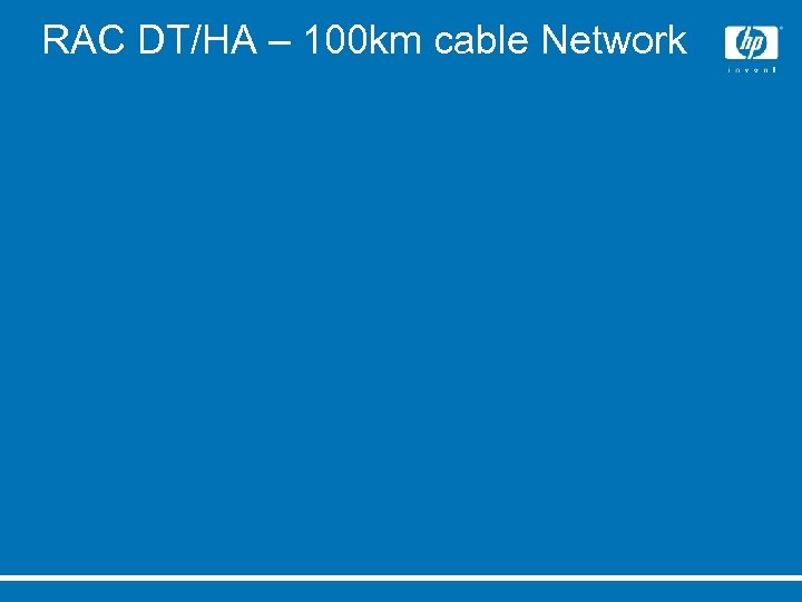 RAC DT/HA – 100 km cable Network