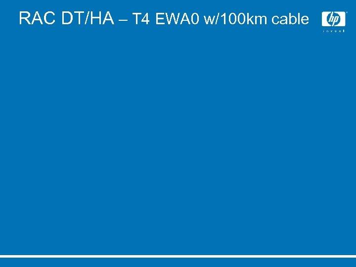 RAC DT/HA – T 4 EWA 0 w/100 km cable