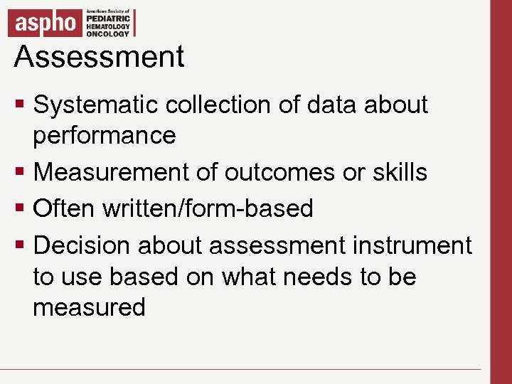 Assessment Click to edit Master title style § Click to editcollection of styles Systematic