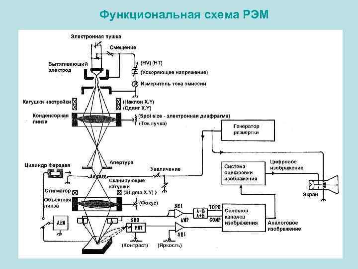 Функциональная схема РЭМ