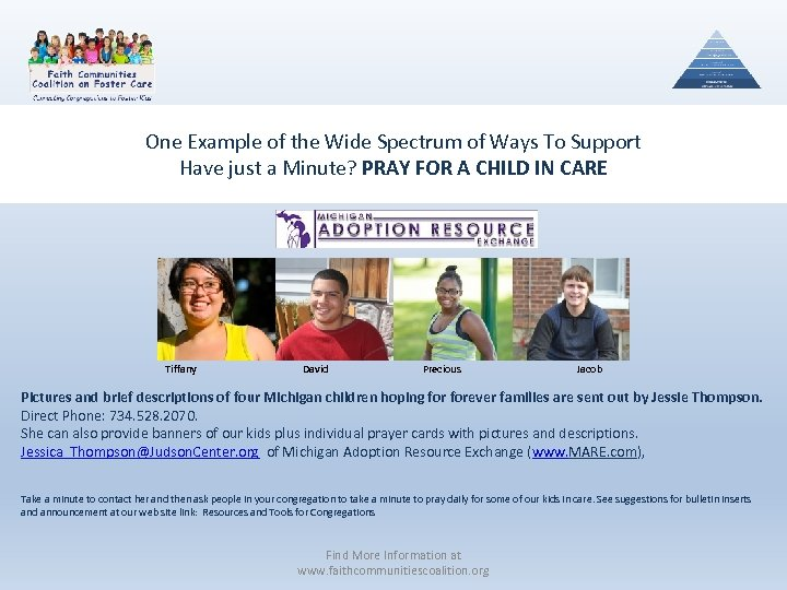 One Example of the Wide Spectrum of Ways To Support Have just a Minute?