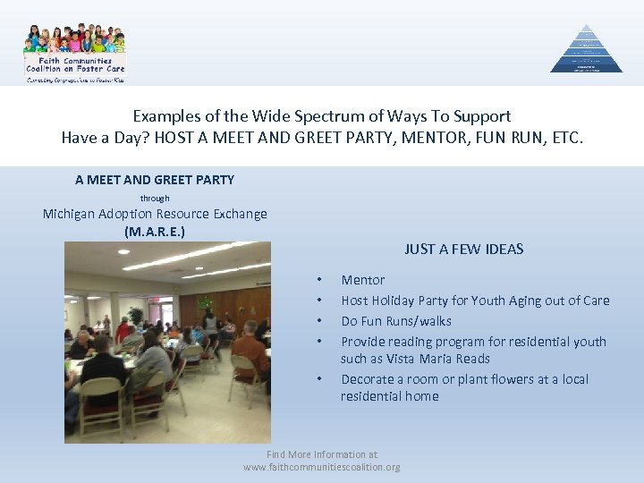 Examples of the Wide Spectrum of Ways To Support Have a Day? HOST A