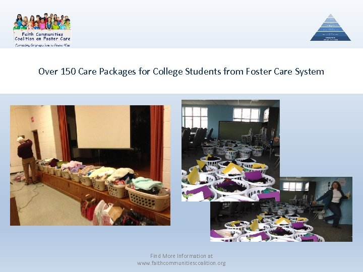 Over 150 Care Packages for College Students from Foster Care System Find More Information