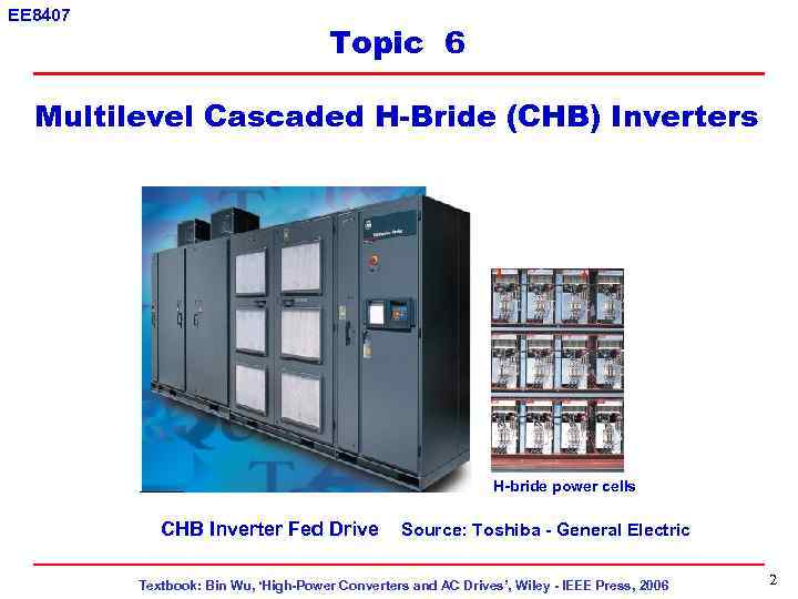 cascaded multilevel inverter thesis Abstract—this paper presents a 5-level three-phase cascaded hybrid multilevel inverter that consists of a standard 3-leg (one leg for each phase) and h-bridge in series with each inverter leg.