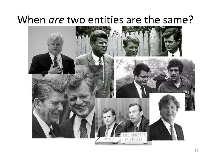 When are two entities are the same? 14