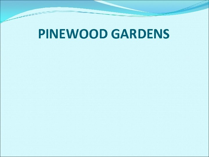 PINEWOOD GARDENS