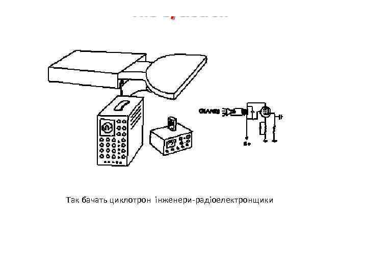 Так бачать циклотрон інженери-радіоелектронщики