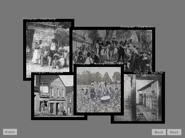 Photograph - Slave Family Photograph - Slave Auction Before considering African-American movement to the