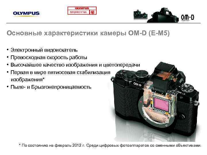 Цифровой фотоаппарат свойства и функции