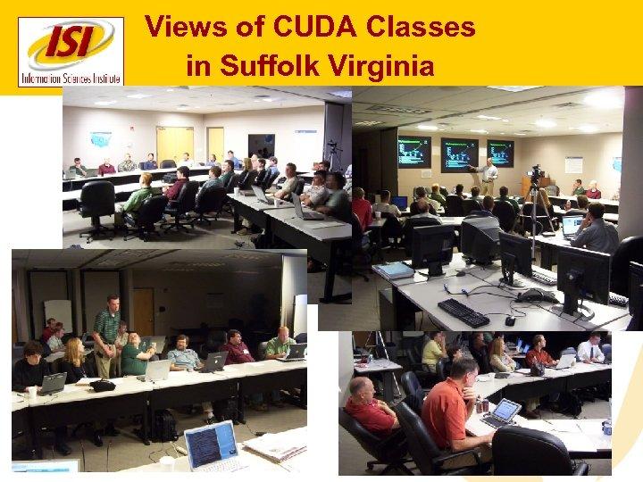 Views of CUDA Classes in Suffolk Virginia