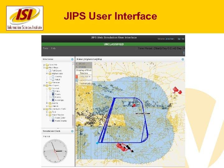 JIPS User Interface