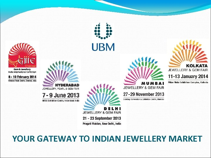 YOUR GATEWAY TO INDIAN JEWELLERY MARKET