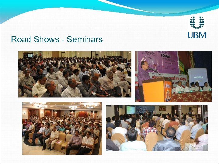 Road Shows - Seminars