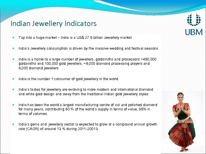 Indian Jewellery Indicators Tap into a huge market – India is a US$ 27.