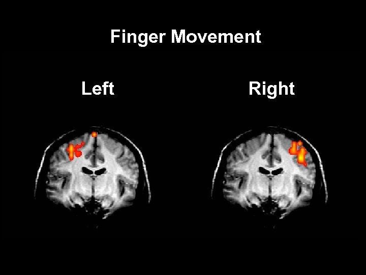 Finger Movement Left Right
