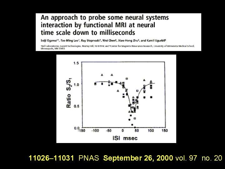 11026– 11031 PNAS September 26, 2000 vol. 97 no. 20
