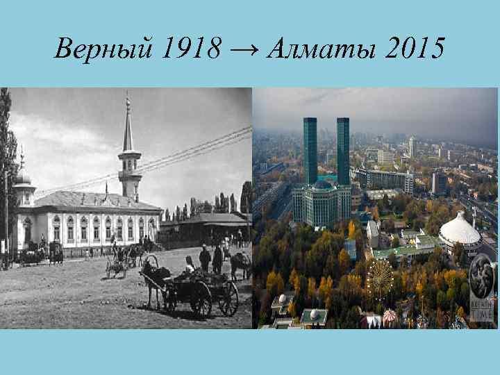 Верный 1918 → Алматы 2015