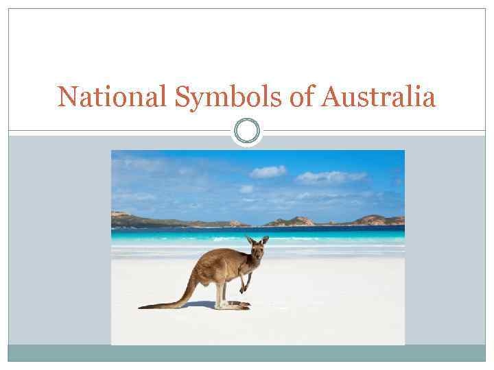 National Symbols Of Australia The National Flag