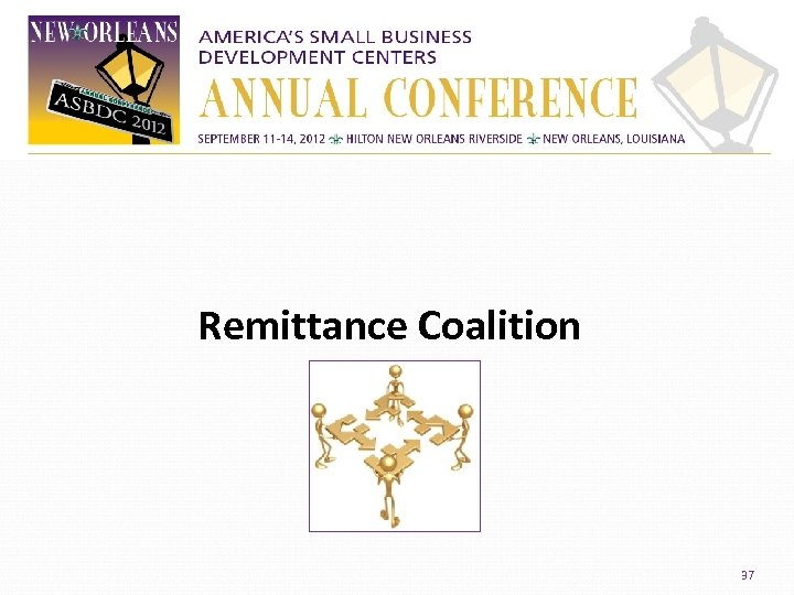 Remittance Coalition 37