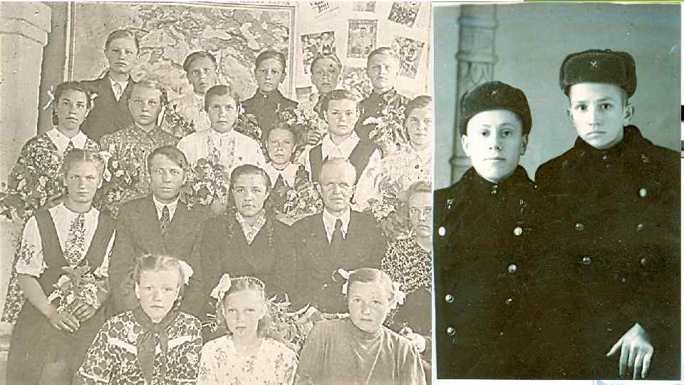 Окончил семилетнюю школу и пошел учиться в РУ№ 1 (1953 -1955)