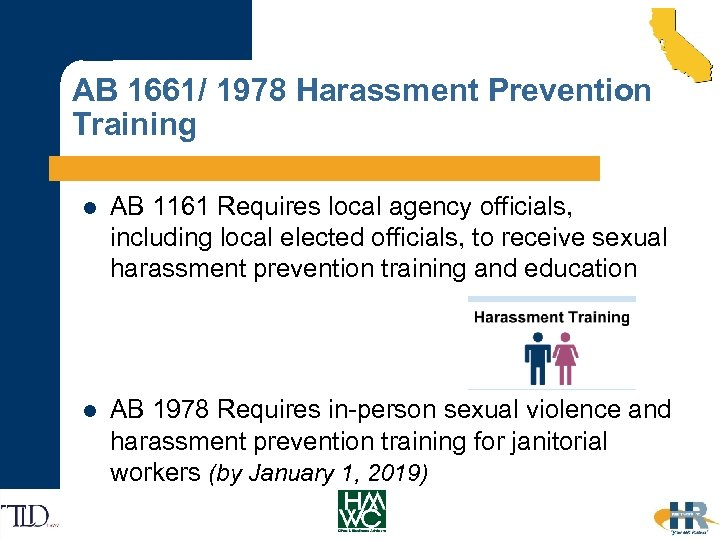 AB 1661/ 1978 Harassment Prevention Training l AB 1161 Requires local agency officials, including