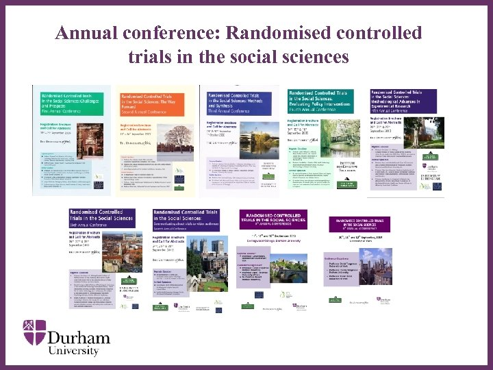 Annual conference: Randomised controlled trials in the social sciences ∂