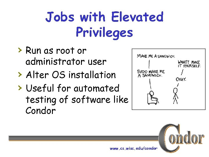 Jobs with Elevated Privileges › Run as root or › › administrator user Alter