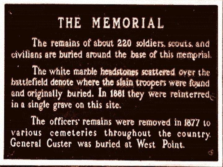 Memorial-Little Bighorn