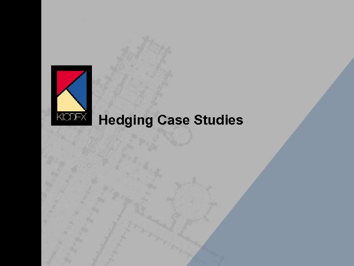 Hedging Case Studies