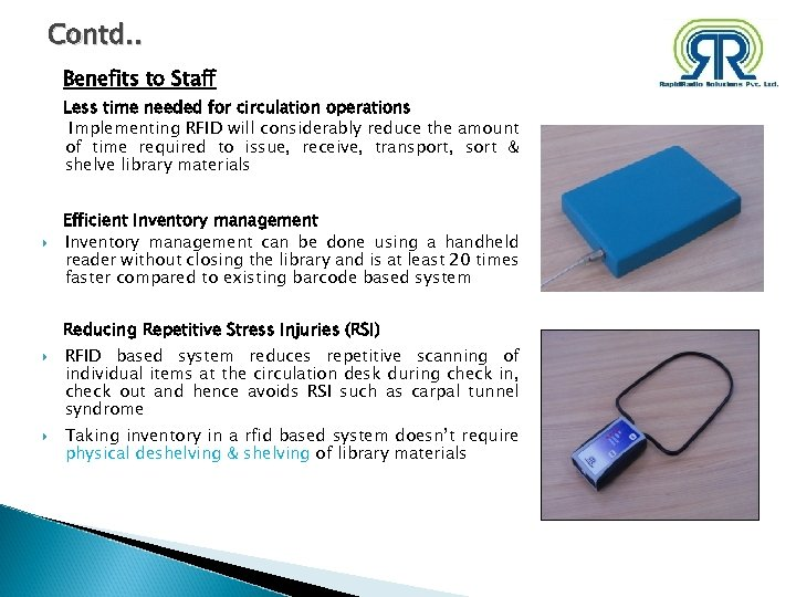 RFID Based Automation Solution for Library Management www