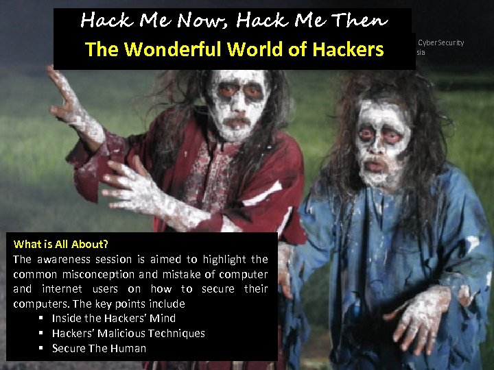 Hack Me Now, Hack Me Then The Wonderful World of Hackers Copyright © 2011