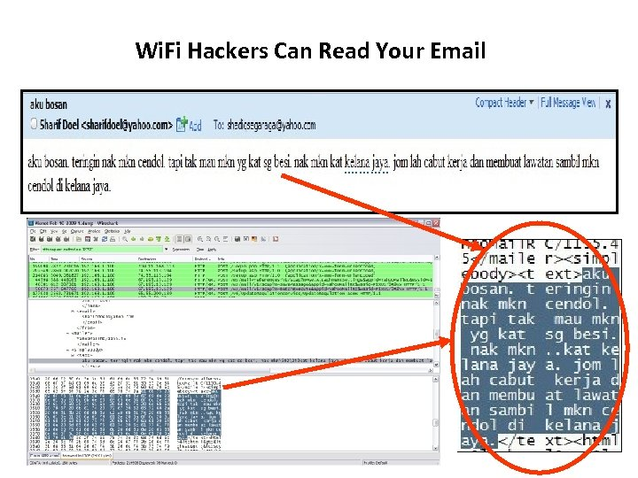 Wi. Fi Hackers Can Read Your Email 21 Copyright © 2010 Cyber. Security Malaysia