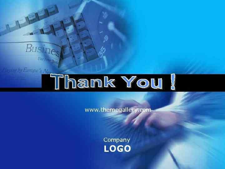 www. themegallery. com Company LOGO