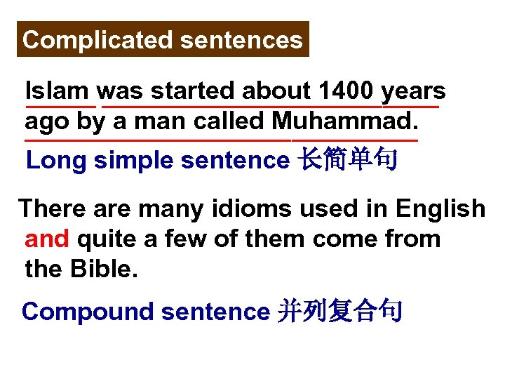Complicated sentences Islam was started about 1400 years _______________ ago by a man called