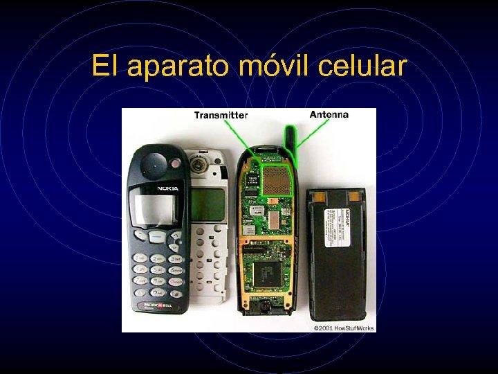 El aparato móvil celular